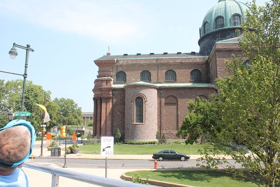 Cathedral Basilica of Saints Peter and Paul: From the bus tour