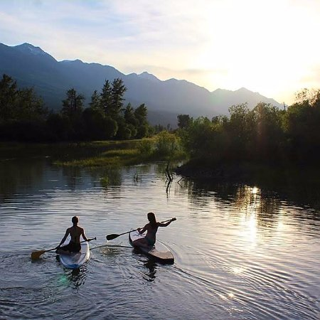 Golden, Kanada: Sup on a magical evening