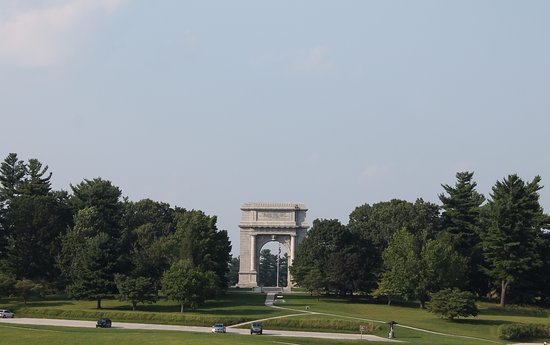 Valley Forge National Historical Park: The Arch
