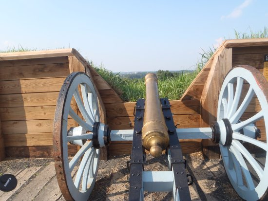 Valley Forge National Historical Park: Gun Emplacement