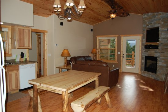 Woodland Park, CO: Angler Cove Living Space