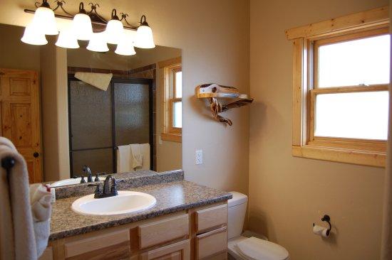 Woodland Park, CO: Angler Bathroom