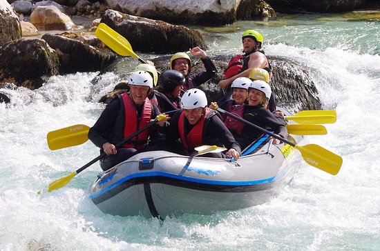 Bovec, Slovenya: You can see we enjoyed the specteculair trip