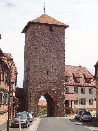 Dambach-la-Ville, ฝรั่งเศส: Dambach - Porte d'Ebersheim