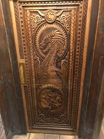 Ballycastle, UK: The Game of Thrones door!