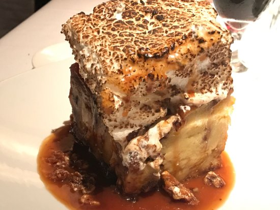 Katy, TX: Must try the Rocky RoadBread Pudding with Toasted Mashmallow on top 😋