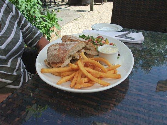 The Coppleridge Inn: Thai Chicken, Lime & Coriander Mayo