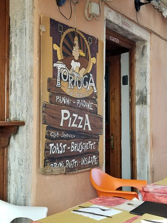 Martellago, Italia: Resturant sign.