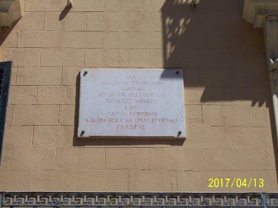 Grand Hotel et Des Palmes : Un hotel histórico. Wagner acabó aquí su Parsifal.....