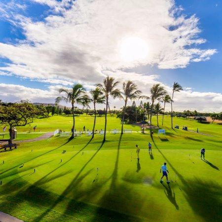 Kapolei, Havai: Putting green and driving range