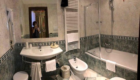 Hotel Al Ponte Mocenigo: Il bagno
