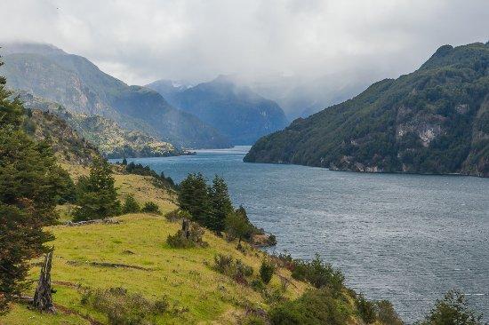 Puerto Aisen, Chile: Lago Elizalde