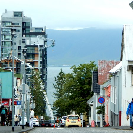 Mosfellsbaer, İzlanda: Улица Рейкьявика