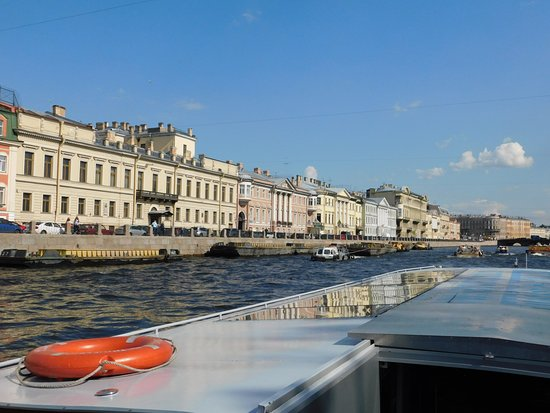 Canal Tours Neva River St Petersburg Russia