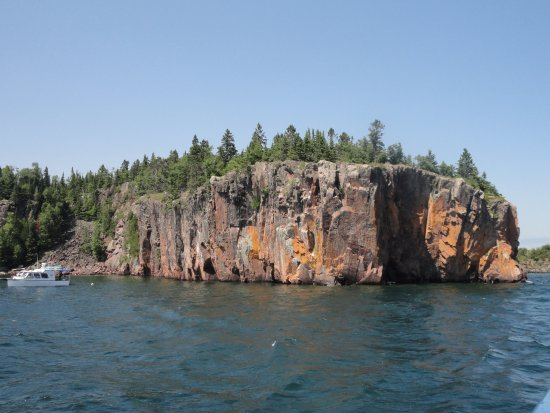 Silver Bay, MN: area where divers practice diving