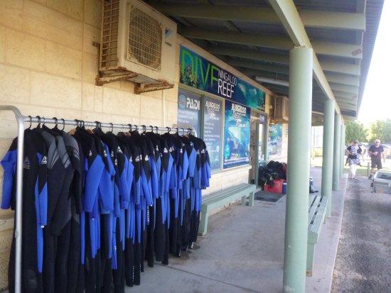 Coral Bay, Australia: Tauchshop