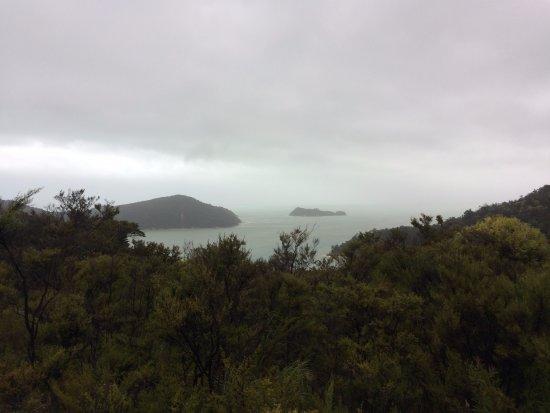 Abel Tasman National Park, Selandia Baru: Vista do alto