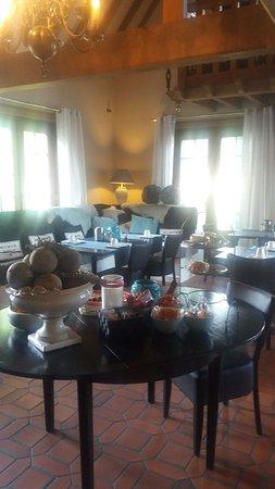 Beernem, Belgique : Breakfast room