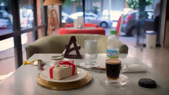 """Patisserie Amandine Marrakech : This confection is called """"Creamy."""""""