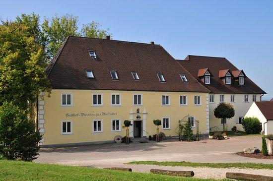 Wemding, Almanya: Außenansicht des Gasthauses
