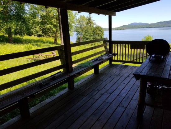 Errol, Nueva Hampshire: Side porch