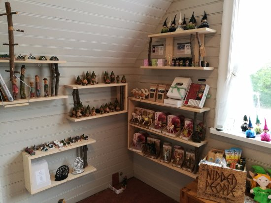 Hafnarfjordur, Iceland: Most products are elf/nature inspired and  handmade by locals