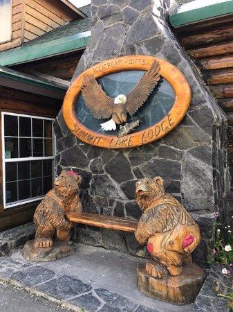 Moose Pass, AK: Main lodge