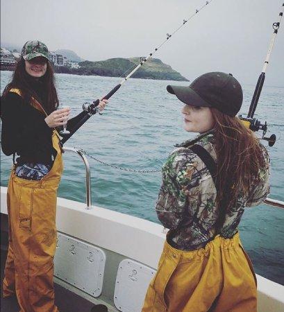 Ilfracombe, UK: Fishing