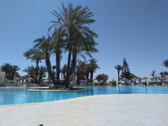 Midoun, Tunisia: Piscine du Golf Beach Hotel