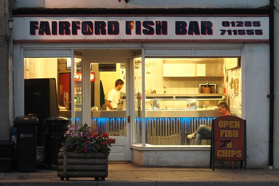 Fairford, UK: Not too busy this particular evening.