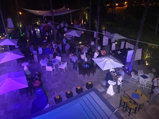 Santorini by Georgios: Pool Deck Private Event