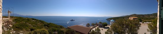 Skinaria, Griekenland: 180° Panorama