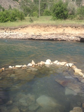 Carbondale, CO: Great place to relax and watch the river flow by