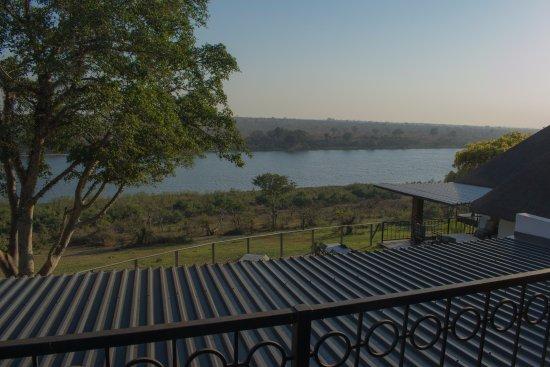 Malelane, Güney Afrika: Uitzicht vanaf het balkon van de Balcony Room.
