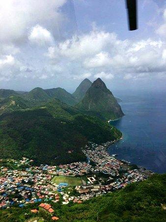 Gros Islet, Sta. Lucía: views
