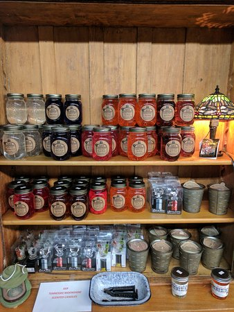 Port Jefferson Outpost Sells Moonshine Candles