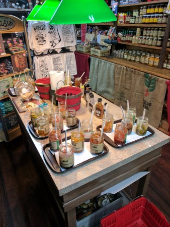 Port Jefferson Outpost Jellies Tasting Bar!