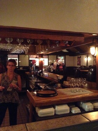 Montrose, CO: Bar Area with seating