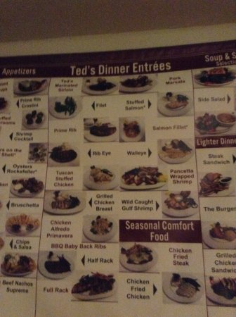 Montrose, CO: Menu as you come in, can look while you wait