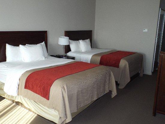 Columbus, Teksas: Double queen bed