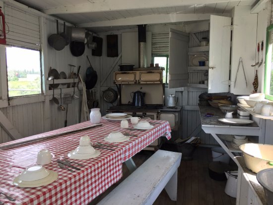 old fashioned kitchen Picture of Prairie Village Museum Rugby