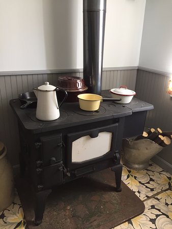 Rugby, Dakota du Nord : Old cook stove