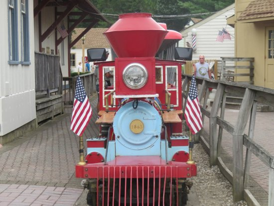 Smithville, NJ: The little Train