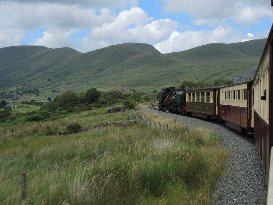 Porthmadog, UK: Travelling on the WHR