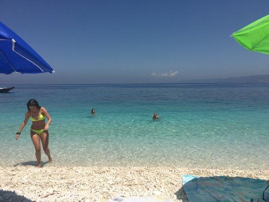 Zola, Greece: Fteri Beach