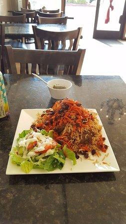 Дублин, Калифорния: Yummy rice with resins