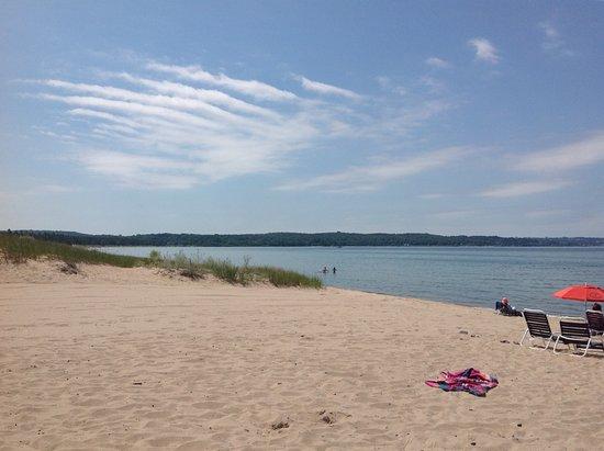 Petoskey, MI: At the beach...