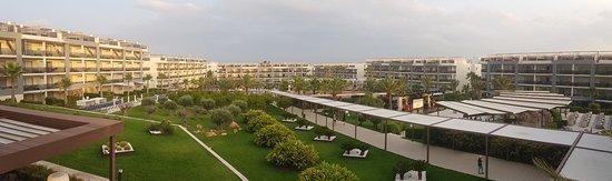 Zafiro Palace Alcudia: View from 1st floor restaurant