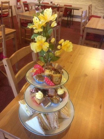Clones, Ireland: A special treat perhaps.  Enjoy Afternoon Tea with us!