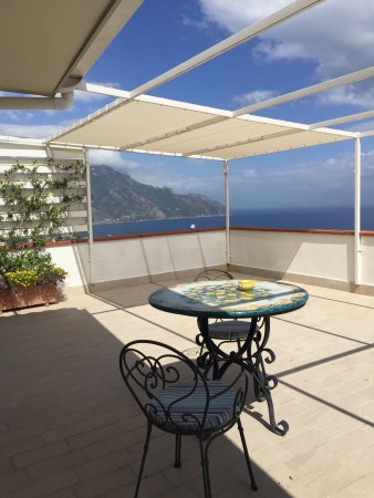 Hotel Villa Felice Relais: Usa from our room with private terrace. Ask for Room 208